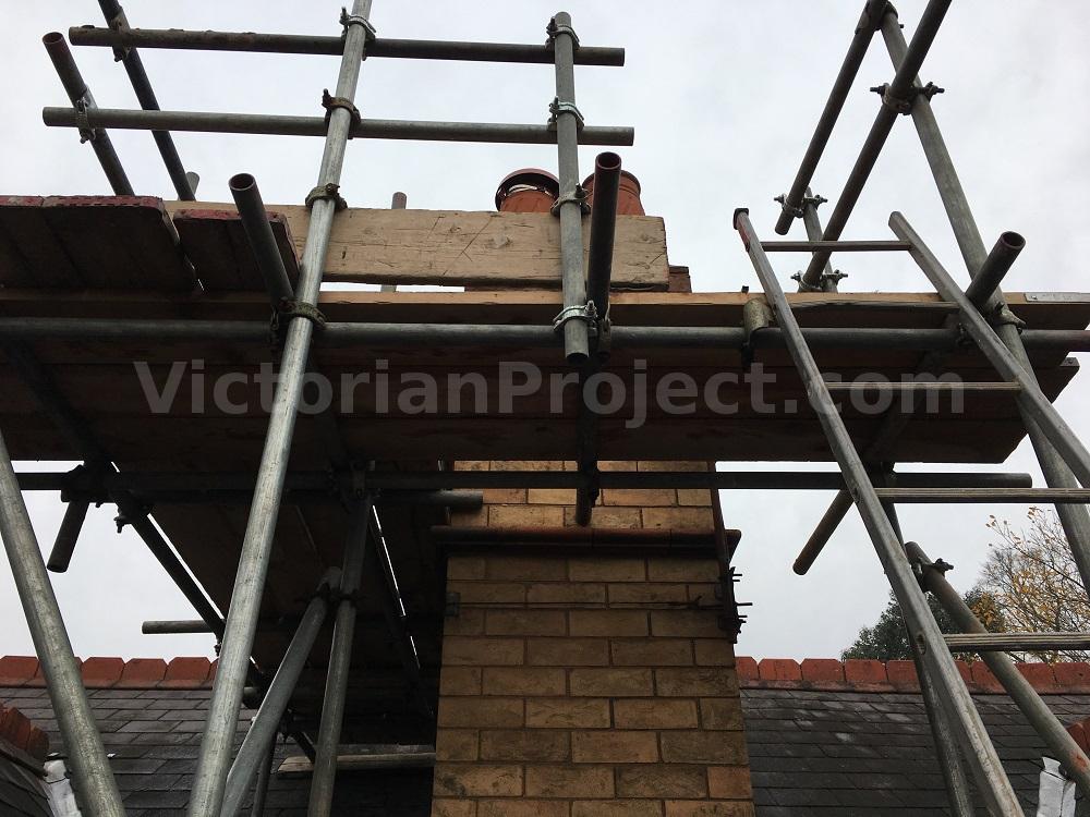 victorian chimney stack repair