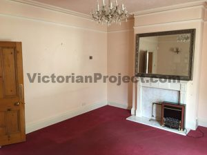 Victorian Living Room Before