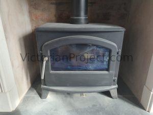 Victorian logburner fitting