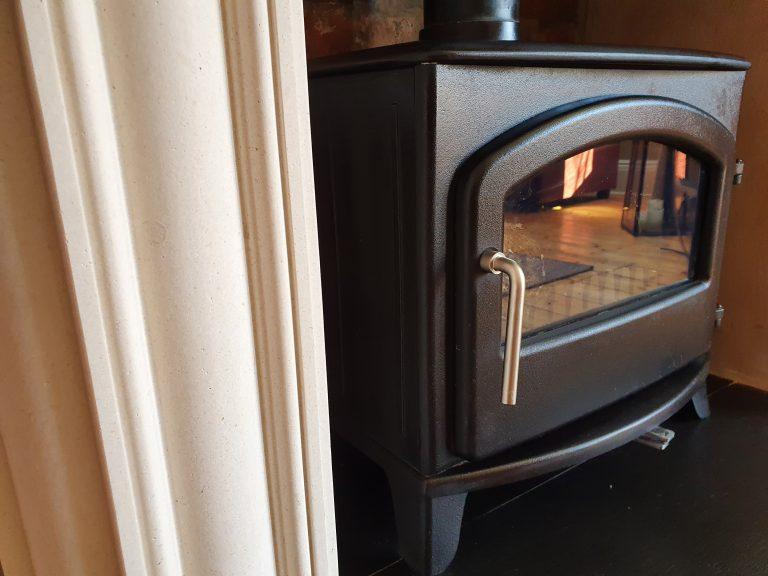 Open Up A Fireplace & Log Burner Installation