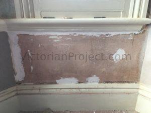 repairing lime plaster walls