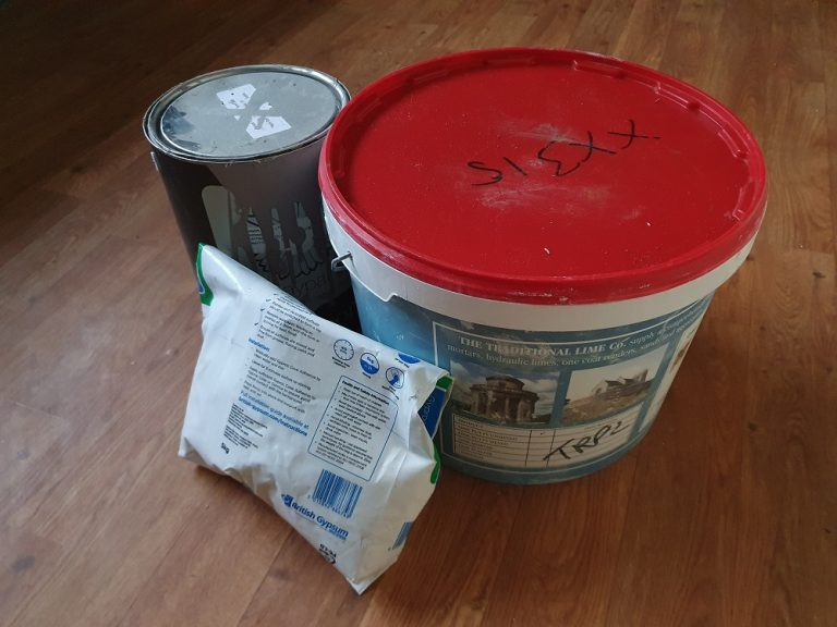 Plaster, Putty & Paint – The Living Room Walls