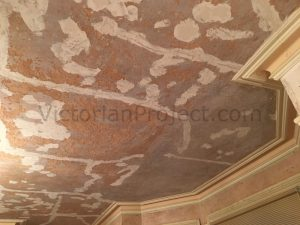 what to do with a wallpapered ceiling