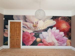 make your own wall mural
